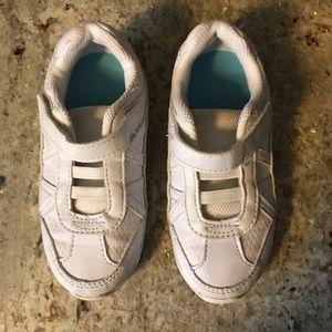 🎀4/$15 Smartfit Toddler Girls White Sneakers 9.5